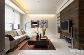 现代风格电视背景墙装修效果图片欣赏