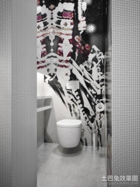创意的瓷砖卫生间效果图