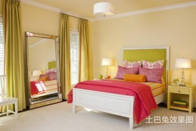 两室两厅卧室装修效果图大全2012图片