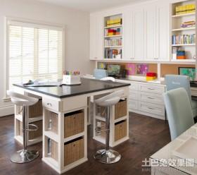 两室两厅简约风格书房装修效果图大全2012图片