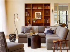 两房两厅演绎经典客厅装修效果图大全2012图片