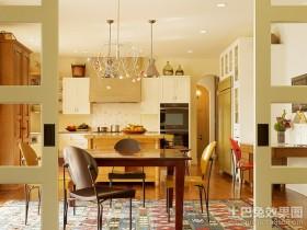 两房两厅演绎经典餐厅装修效果图大全2012图片