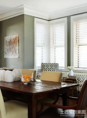 简欧小户型室内餐厅装修效果图大全2012图片