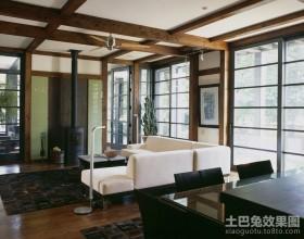 豪华的美式风格客厅装修效果图大全2012图片