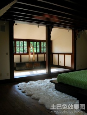 豪华的美式风格卧室装修效果图大全2012图片