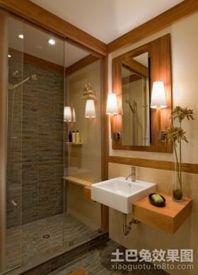 豪华的美式风格卫生间装修效果图大全2012图片