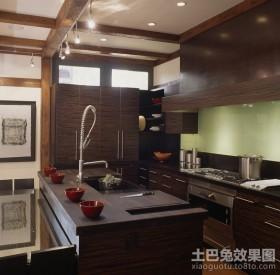 豪华的美式风格整体橱柜装修效果图大全2012图片