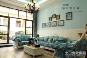 地中海复式客厅装修效果图