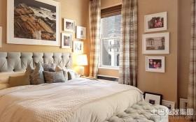 欧式典雅的四居室卧室装修效果图大全2012图片
