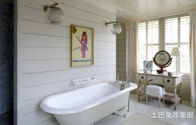 简欧卫生间装修效果图大全2012图片