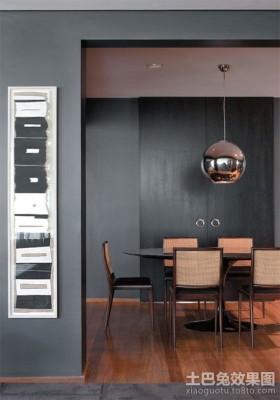 现代感二居室餐厅装修效果图大全2012图片