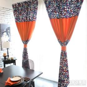 餐厅窗帘效果图