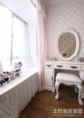 2013年欧式卧室飘窗装修效果图图片