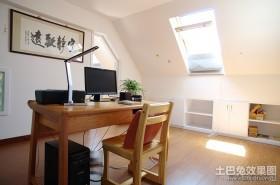 50平小户型田园风格书房装修效果图大全2012图片