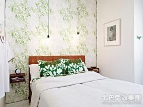 60平小户型卧室壁纸装修效果图