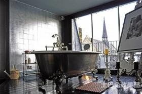 伦敦黑色魅影公寓卫生间装修效果图大全2012图片