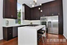 最新别墅厨房装修效果图