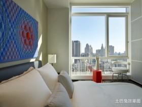 创意现代风格四居室卧室装修效果图大全2012图片