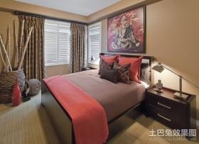 奢华的东南亚风格装修卧室图片