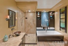 奢华的东南亚风格装修卫生间图片