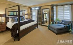 经典华丽的东南亚风格卧室装修效果图大全2012图片