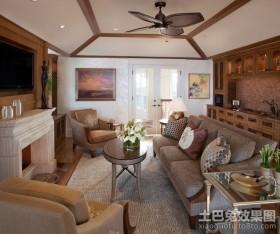 浪漫温馨的地中海风格装修客厅效果图
