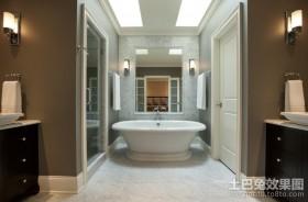 简朴的美式风格装修效果图卫生间图片