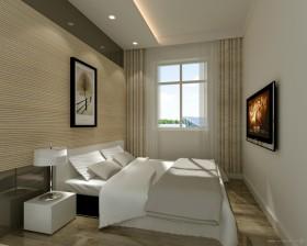 素雅文艺的卧室装修效果图大全2012图片