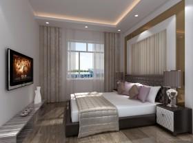 龙山国际经典两房两厅卧室装修效果图大全