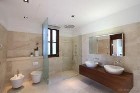 西班牙马略卡岛休闲别墅 卫生间装修效果图欣赏