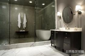 超豪华现代装修风格卫生间效果图