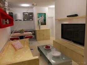 40平米超小户型婚房客厅装修效果图