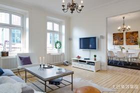 两室一厅简约客厅装修效果图