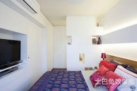 50平米小户型现代卧室装修效果图 快乐的蜗居