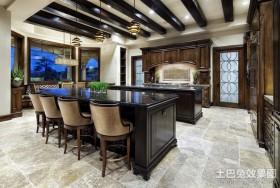 三房两厅欧式古典美厨房装修效果图大全2012图片