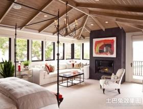 80后小夫妻北欧婚房客厅装修效果图大全2012图片