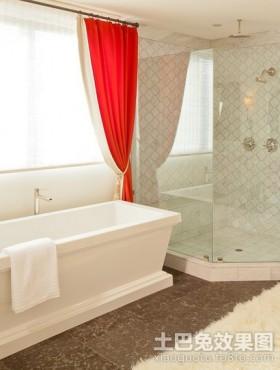 80后小夫妻 北欧婚房小卫生间装修效果图大全2012图片