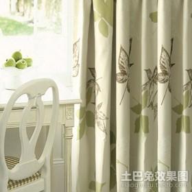 卧室窗帘效果图片