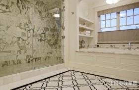 山间别墅美式风格装修卫生间图片