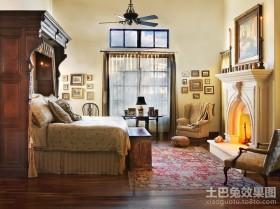 三室两厅美式风格卧室装修效果图大全2012图片