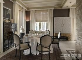 三房两厅欧式奢华的餐厅装修效果图大全2012图片