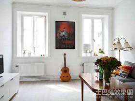 40平米小户型客厅装修效果图片