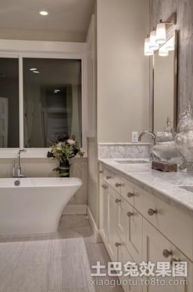 老式美式风格卫生间装修效果图大全2012图片