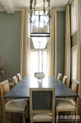 欧式浪漫单身公寓餐厅装修效果图大全2012图片
