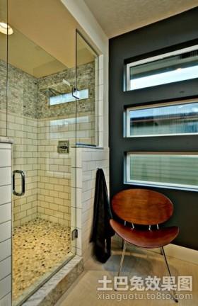 欧式现代风格卫生间装修效果图大全2012图片