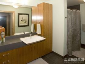 80平米小户型简约卫生间装修效果图