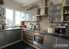 两室两厅厨房装修效果图大全2012图片