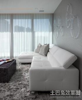 简约两室两厅客厅装修效果图大全2013图片