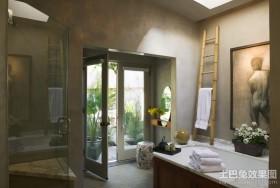 115平米三室两厅卫生间装修效果图