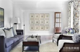 120平三房两厅欧式客厅装修效果图